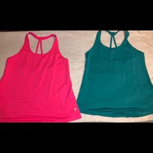 Bundle of 2 Old Navy workout tops